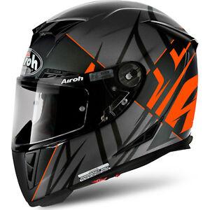 AIROH GP500 Sectors Matt Orange KTM Carbon MotoGP Light Motorbike ACU Helmet
