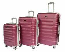 Women's Spinner (4) Wheels Suitcases with Extra Compartments