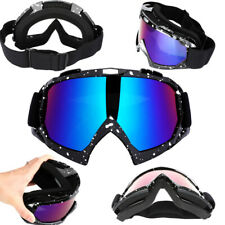 Motorcycle Goggles Motocross Mx Glasses Outdoor Off Road Atv Utv Anti-Uv Glasses