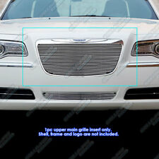 Fits 2011-2014 Chrysler 300/300C Main Upper Billet Grille Grill Insert
