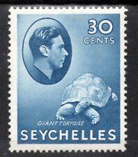 SEYCHELLES KG VI 1938-49 30c. Blue SG 142a MINT