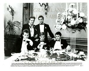 Diner original 1982 movie press kit with 2 photos and productions notes