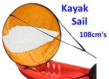 Kayak Sail Instant Wind Sails Kit - Easy Canoe Sailing 108cm's!