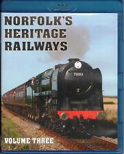 Norfolk's Heritage Railways Volume 3. Blu-ray DVD