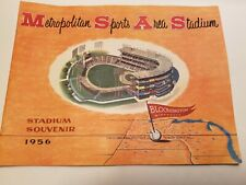 Metropolitan  Sports  Area Stadium Souvenir
