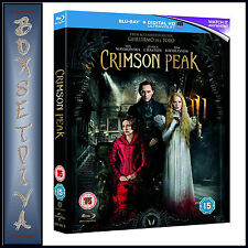 Crimson Peak Blu-ray UV Copy 2015 DVD Region 2
