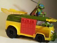 Teenage Mutant Ninja Turtles T-Machines Leo's Talking Party Van by Playmates