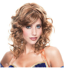 Synthetic Role play Peluca Reenactment or Crossdresser Costume readhead Wig