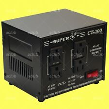 300W AC Voltage Power Converter 220V/230V/240V Step Down Japan 100V/110V/120V