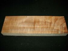 "Curly Maple Lumber Block Carving Craft Art Knife Call 22"" Aaaa"