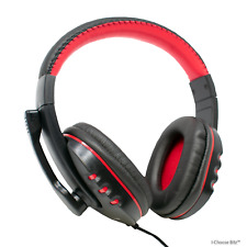 Stereo USB Headset + Microphone / Gaming Skype / In-Line Volume Dynamode MX-878
