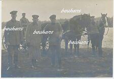 Foto Polen bei Koniecpol-Schlesien-Offiziere A.A.Woyrsch Frühjahr 1915 (c376)