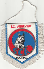 Sporting Club Abbeville Côte Picarde SCA FOOTBALL FANION WIMPEL PENNANT 80s
