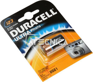 10PZ Cell Battery duracell 3V Lithium Lithium 123 DL123A CR123A EL123A Camera
