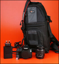 Canon EOS 100D DSLR Camera +18-55mm Zoom Lens kit + Battery,Charger 3,602 Shots