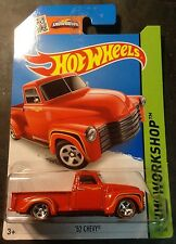 2015 Hot Wheels CUSTOM Super Treasure Hunt '52 Chevy with Red Line Real Riders