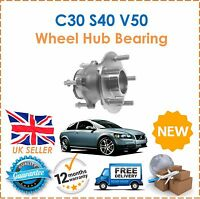 For C30 S40 V50 1.6 1.8 2.0 2.4 D4 D5 T5 ABS 04-11 Rear Wheel Hub Bearing x1