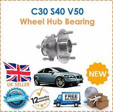 For C30 S40 V50 1.6 1.8 2.0 2.4 D4 D5 T5 ABS 04-11 Rear Wheel Hub Bearing x1