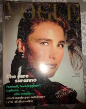 Vtg Vogue Italia 12/1985 Kristen McMenamy Peter Lindbergh Mikhail Baryshnikov