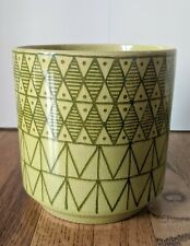 Ceramic planter pots. Green 6.5 inch