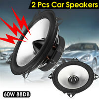 (1 Pair) LBPS1401D 4'' Car Audio Coaxial Coax Speakers Stereo HIFI Subwoofer