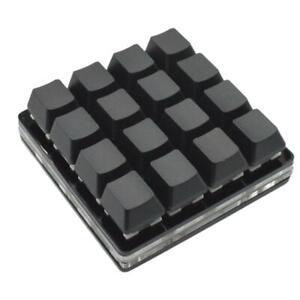16-key Black Keypad Mechanical Keyboard Custom Shortcut Keys Programmable