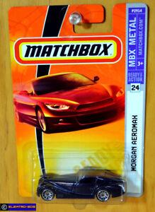 Matchbox Morgan Aeromax [Dark Blue] - New/Sealed/VHTF [E-808]