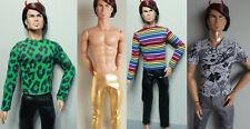 Fashion Royalty Homme Kleidung T-shirt leder Hose Kunsltleder Jacke Leggings