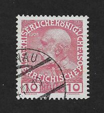 Austria  The 60th Anniversary of the Reign of Emperor Franz Josef 1 10 H  (Z4)