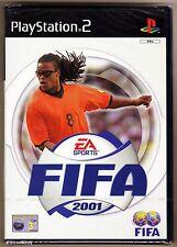 PS2 Fifa 2001, UK Pal Scanda Edition, Brand New Sony Factory Sealed
