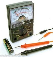 POCKET SIZE ANALOGUE MULTIMETER / MULTITESTER