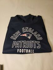 New England Patriots 3XL Hooded Pullover Sweatshirt NFL Team Apparel NWT