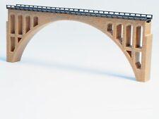 Built Z-scale Large Bridge, fits 2 ea Marklin 8500 220mm