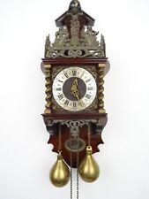 Zaanse Zaandam Warmink Dutch Wall Clock Vintage (Junghans Hermle Kienzle Era)