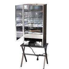 XXL 80 cm elektr. Räucherofen Räucherschrank Räuchertonne Smoker +Tisch