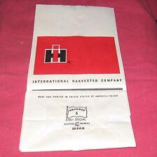 Original International Harvester Parts Bag Total of 10 IH IHC Farmall Tractor