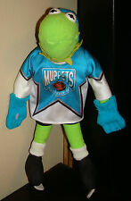 KERMIT THE FROG Plush DOLL Hockey Uniform NHL Conference MUPPETS Skates Jersey