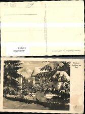 157158,Neuhaus Gasthof u. Pension zur Post m. Wendelstein Winteransicht