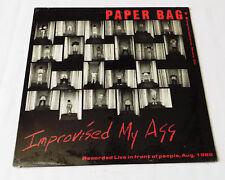 PAPER BAG Improvised my ass USA Orig LP SST-229 Experimental -  STILL SEALED