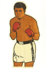 """1970's Muhammad Ali 22"""" Felt Boxing Pennant, EX+ with Great Color"""