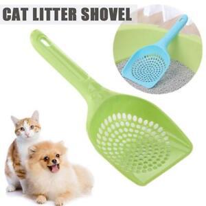 Plastic Cat Litter Scoop Pet Care Sand Waste Scooper Shovel Hollow Cleaning M6N0