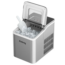 26lb/24H Portable Countertop Ice Maker Machine Self-Cleaning Multicolor W/ Scoop