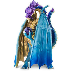 Wizard Dragon Fantasy Figure Safari Ltd 100400 NEW Toys