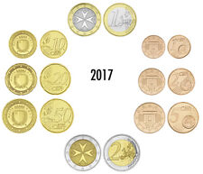 MALTA EURO-KMS 2017 LOSE 3,88 EURO BANKFRISCH