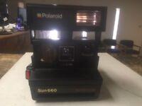 Polaroid SUN 660 Auto Focus Instant Camera Pre-Owned
