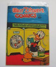 US-Walt Disney 's Comics and Stories (Dell) #105 graded 7.0