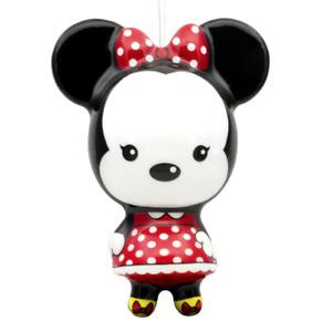 Disney Minnie Mouse Ornament Authentic New Hallmark Keepsake Decoupage Christmas