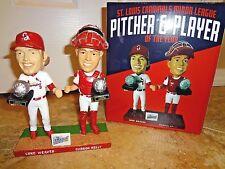 NIB St Louis Cardinals Luke WEAVER Carson KELLY Dual Bobblehead Spfld SGA 7-8-17