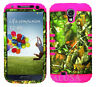KoolKase Hybrid Silicone Cover Case for Samsung Galaxy S4 i9500 - Camo Mossy 10