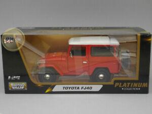 Toyota FJ40 (1974) - Motormax 1:24 - MX79323RE